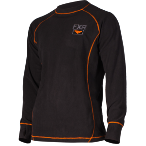 Термо-кофта муж. FXR Pyro Thermal Black/Orange L