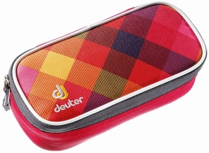 Пенал Deuter Pencil Case berry crosscheck