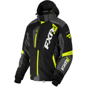 Куртка мужская FXR Mission FX-4 Black/Charcoal/Hi-Vis XL