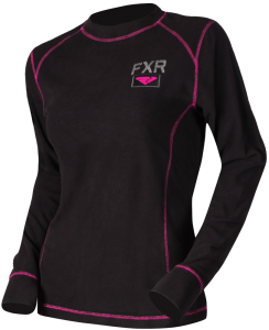 Термо-кофта жен. FXR Pyro Thermal Black/Fuchsia XS