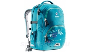 Рюкзак Deuter School Ypsilon petrol butterfly